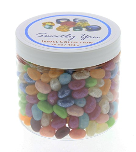 Jelly Belly 1 LB Jewel Collection Flavored Assorted Beans.