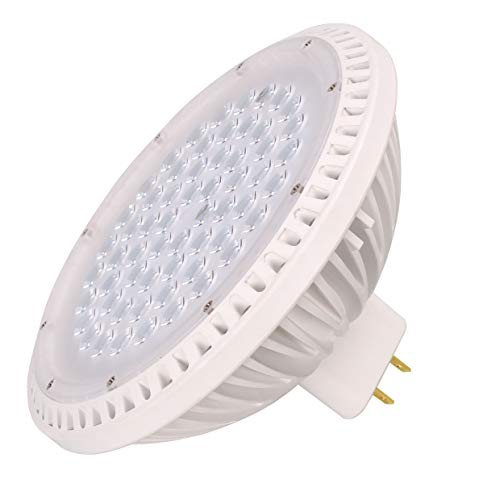 40W LED Par64 500W Replacement Warm White 2700K 15 Degree Narrow Spread 120V GX16D Base, Non-dimmable, Pack of - Narrow Spread