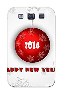 Galaxy Cover Case - Happy New Year Protective Case Compatibel With Galaxy S3