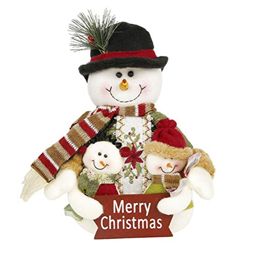 HEALIFTY Christmas Decor Dolls, Christmas Themed Tabletop Ornaments