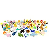 DS.DISTINCTIVE STYLE Animal Erasers Set of 20 Detachable Rubber Pencil Erasers Creative Stationary for Kids, Schools - Random Pattern