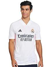 adidas Real Madrid Temporada 2020/21 Camiseta Primera Equipación Oficial uniseks-volwassene Officieel shirt voor het eerste team