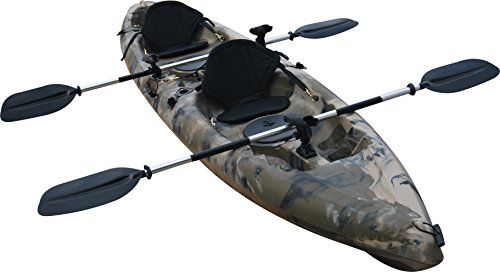 Useful-UH-TK181-125-foot-Sit-On-Top-Tandem-Fishing-Kayak-Paddles-and-Seats-included