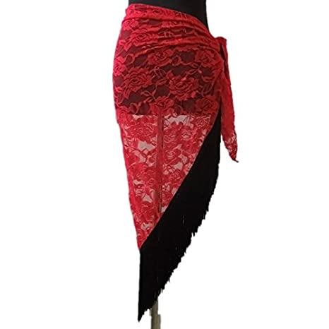 Kasit Danza del Vientre Cadera Bailar Toalla de Cadera Danza del Vientre Disfraz Rock – Punta