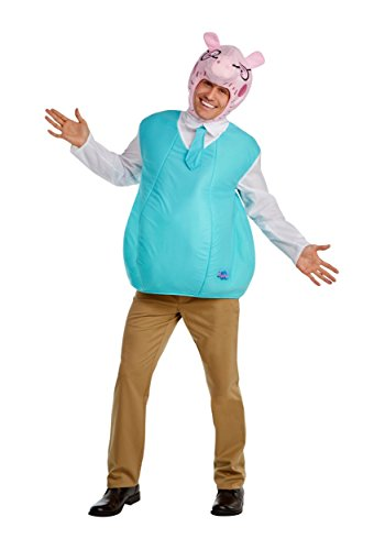 Men's Daddy Pig Costume - L