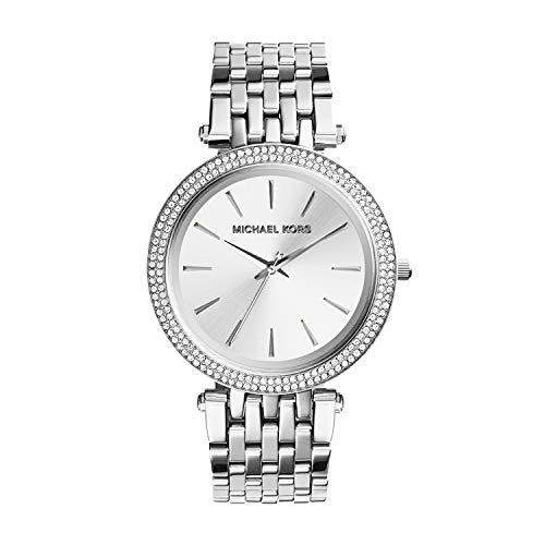 Michael Kors Women's Darci Silver-Tone Watch MK3190 (Rhinestone Michael Kors Watch)