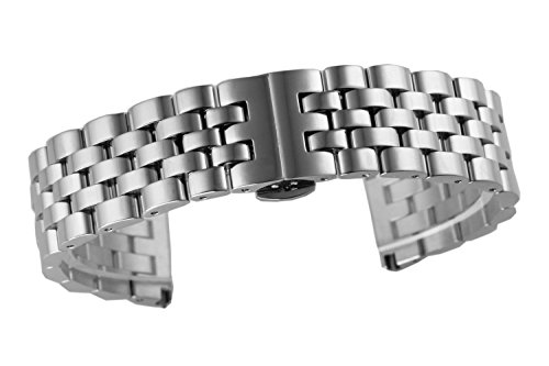 18mm Jubilee Style High-end Solid Stainless Steel Watch Band