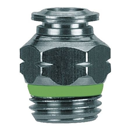 1/4'' Tube x Universal Thread SS Male Connector by AIGNEP USA