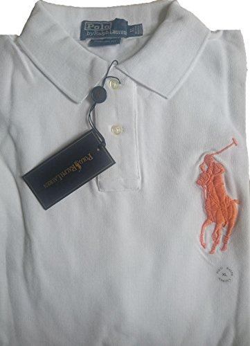 Ralph Lauren Poloshirt Custom Fit Big Pony/Orange