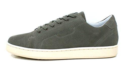Guess Sneaker Men Allan Suede Grey_45 yBNCSUJM
