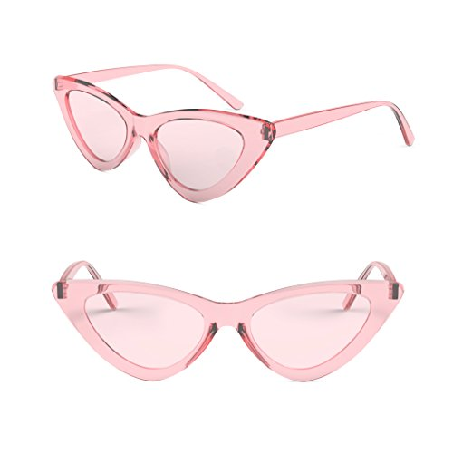 808ad68c4d Davachi Cat Eye Clout Goggles Sunglasses Vintage Mod Style Retro Kurt Cobain  Cateye Set White