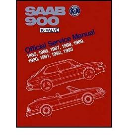 saab 900 16 valve official service manual 1985 1986 1987 1988 rh amazon com Black Saab 9-3 Wagon 1991 Blue Saab