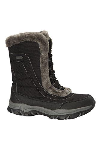 Caldi per Stivali e Donna Nero da Invernali Neve Impermeabili e Ideali Doposci Ohio Warehouse Mountain T0wqBAfq