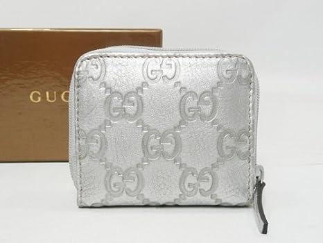 brand new b7b11 6a60c Amazon.co.jp: [GUCCI]グッチ 財布 コインケース GG柄 シマ ...