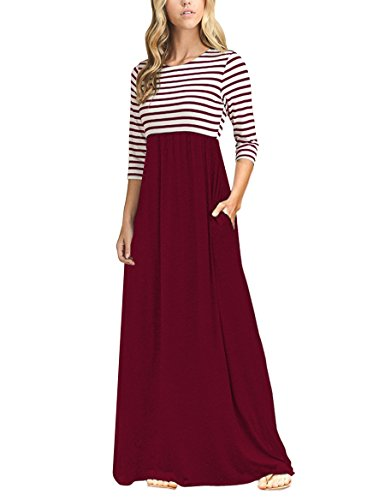 dress with 3/4 sleeves - 4