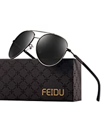Polarized Aviator Sunglasses for Men – FEIDU Fashion...
