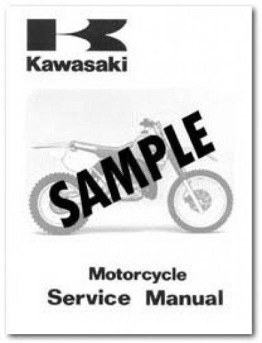 99920-1673-01 1994 Kawasaki KLX650-C2 Motorcycle Owners Manual ()