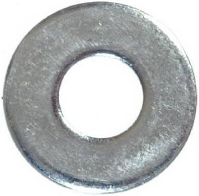 Flat Washer44; Zinc Plated Steel Hillman Fasteners 270006 0.25 in