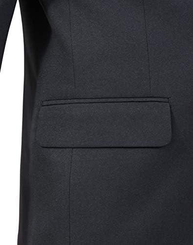 オールシーズン シングル2つボタン テーラードジャケット 総裏仕立て ポリエステル100% ブラック 黒ジャケット 程よくスリム