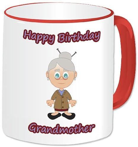 Taza personaliseitonline - feliz cumpleaños abuela taza ...