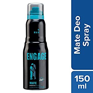 Engage Man Deodorant Mate, 150ml / 165ml (Weight May Vary)