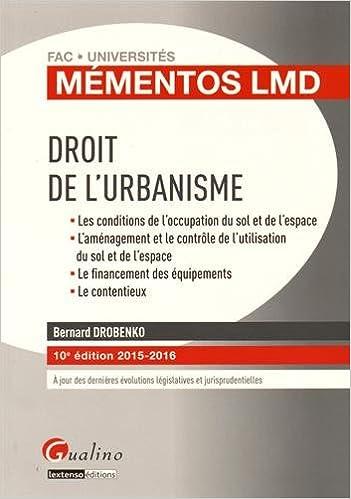 Droit de l'urbanisme pdf ebook