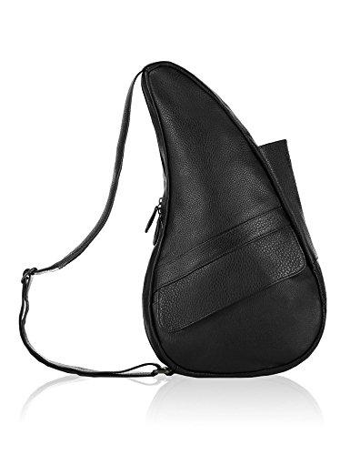 AmeriBag Classic Leather Healthy Back Bag tote Medium,Black,one (Ameribag Black Bag)