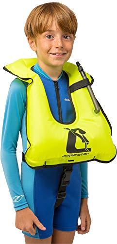 Cresssi Snorkel Vest, yellow, Kids size ()