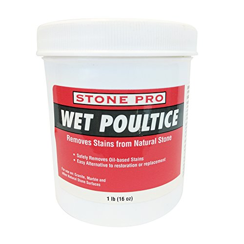 Stone Pro Wet Poultice - Removes Stains From Natural Stone - 1 Pound by Stone Pro
