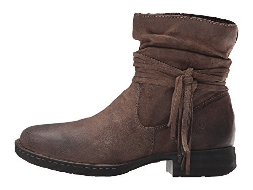 Born Womens Abernath Leather Closed Toe Ankle Fashion Boots, Taupe, Size 6.0
