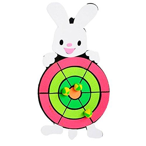 子供たちダーツボードおもちゃ漫画ダーツボード ウサギ