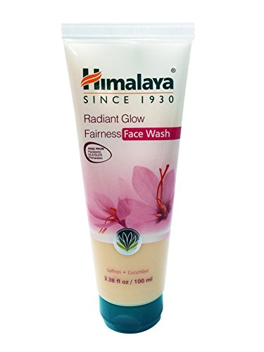 Himalaya Radiant Glow Fairness Face Wash & Cleanser with Saffron and Cucumber, Free from Parabens, SLS, Phthalates (Glow Face Wash)