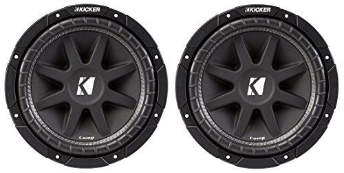 Kicker Comp Subs - 2) Kicker C104 10