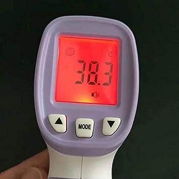 DGdolph Temperatura Term/ómetro infrarrojo Medidor de Temperatura sin Contacto Pir/ómetro