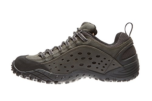 Hiking Castle Black Intercept Merrell Rise Men's Shoes Rock Low FIqOpqw