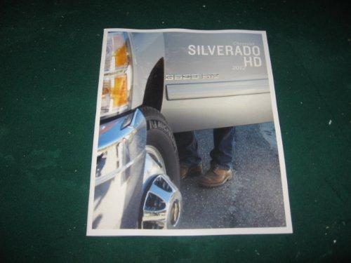 2012 Chevy Silverado HD Pickup Sales Brochure; 2500; 3500; WT; LT; LTZ