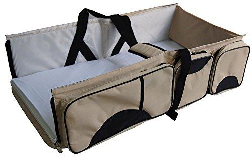 Giwox 3 in 1 baby wickeltaschen tragbar reise stubenwagen