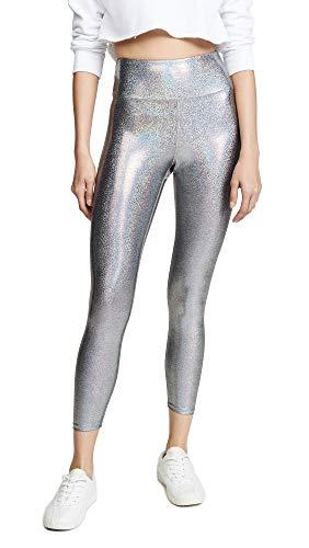 - Heroine Sport Women's Marvel Leggings, Matrix, Silver, Metallic, Medium