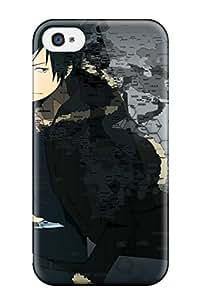 New Durarara Tpu Skin Case Compatible With Iphone 4/4s