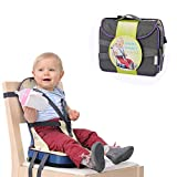 Dream-cool Travel Booster Seat Baby Dining Chair Bag Portable Chair Portable Bib Mummy Bag Oxford Waterproof Fabric Baby Nurse Bag