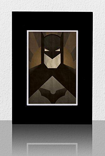 Minimal Batman  5 X 7