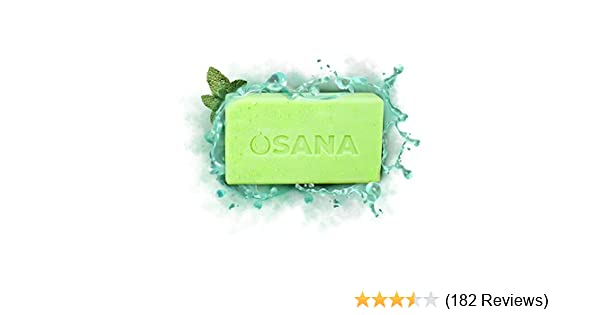 Osana All Natural Mosquito Repellent Soap (3 Bars, 1 Bonus Travel Bar)  Citronella & Menthal