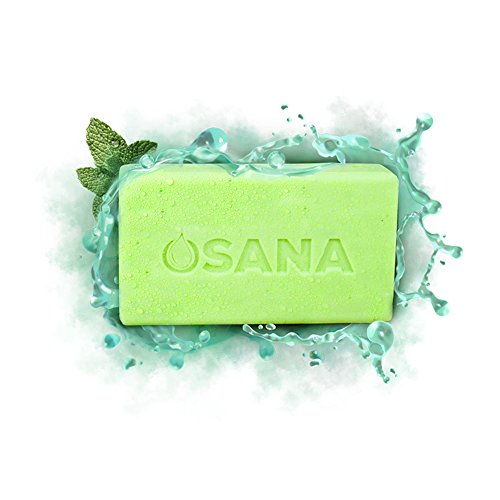 (Osana All Natural Mosquito Repellent Soap (3 Bars, 1 Bonus Travel Bar) Citronella & Menthal)