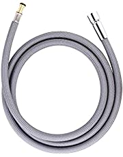 """150259 Hose Kit for Moen Pulldown Kitchen Faucets Replacement Hose Part Number #187108, Strong Nylon Finish, 68"""" Length"""