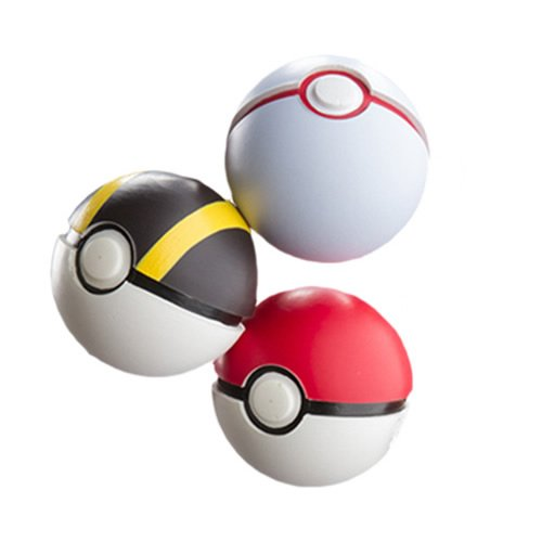 Pokemon Throw 'N' Catch Poké Ball 3 Pack