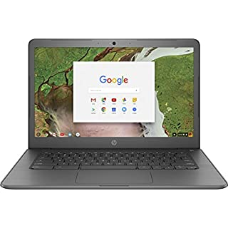"HP 14"" Touchscreen Chromebook - AMD Dual-Core A4 - 4GB Memory - 32GB eMMC - WiFi & Bluetooth - Webcam - Gray"