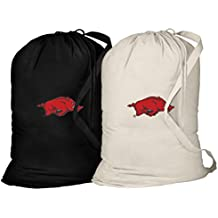 University of Arkansas Laundry Bag -2 Pc SET- Arkansas Clothes Bags