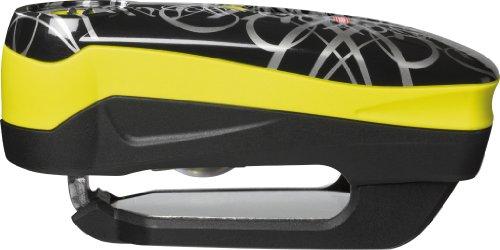 Abus Bremsscheibenschloss Detecto 7000 RS1 signature yellow Bgel ca. 50 x 100 mm