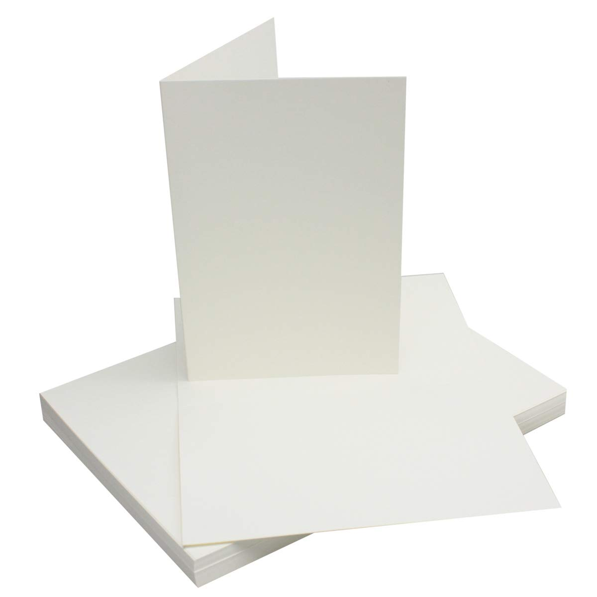 A5//C5 color 29-Rot 25 Sets Sets de tarjetas dobles coloridas con sobres