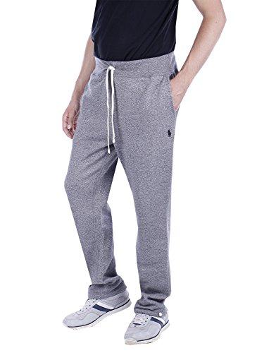 Polo Ralph Lauren Mens Fleece Lined Sweatpants (L, Alaskan Heather)